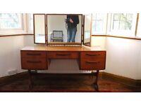 G-Plan Teak Dressing Table and Mirror