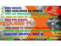 FREE MOVIES/SPORTS/PPV/ SKY TV- ANDROID TV BOX