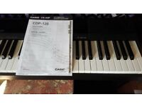 Casio CDP-120 digital piano with CS-44P stand