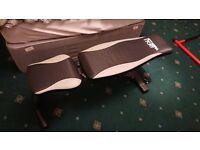 MiraFit Fully Adjustable Folding Gym Weight Bench