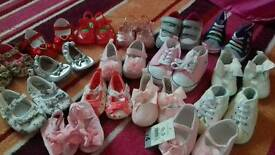 Baby girls shoes size 1