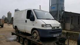 VAN WANTED 2.5 2.8 Peugeot Boxer Fiat Ducato Citroen Relay Jumper iveco daily Breaking Diesel
