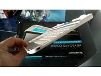 SilverCrest bluetooth keyboard silver-white