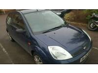 ford fiesta 3dr 1.25 2004
