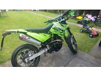 FULL MOT COMES WITH 2 KEYS 125CC MINT SWAP MAYBEE