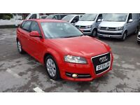 AUDI A3 SE 1.9 TDI TOP CONDITION 59 PLATE SPORTBACK £30 YEAR TAX 12 MOT 3 M NATIOWIDE WARRANTY