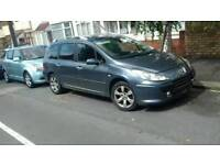 Peugeot 307 Estate 7 seater 2.0 diesel panoramic roof