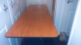 6ft x 2ft Banqueting Trestle Table Contract Quality