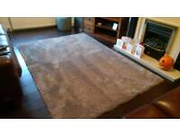 Large mink rug