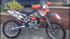 KTM 525 Exc Desert - 2004 - 700 miles apx from new
