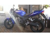 WK 125R Motorbike.