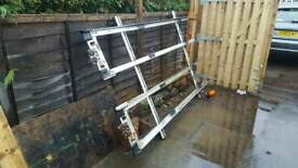 Roof Ladder Rack for Transit mk6/mk7 with beacon