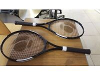 Four Artengo 700 Tennis Raquets