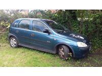 Bargain Vauxhall Corsa 1.7DTi - MOT until October
