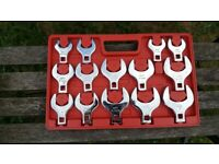 "Heavy Duty 1/2"" Crows Foot Mechanics/Engineers Spanners/Tools"
