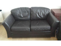 2 leather sofa