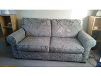 Three seater bed settee and chairs
