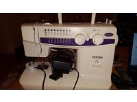 Brother XL-5021 sewing machine superb condition with loads of accessories