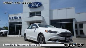 2017 Ford Fusion *NEW* SE *202A* FWD *HEATED LEATHER* 1.5L I4