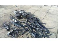 Pond fi!ters, pumps, uv clarifier and hoses