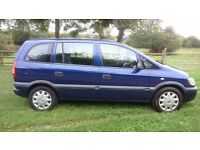 Vauxhall Zafira 1.6 16v club, Mot June Next Year, Service History, low millage 93k, electric windows