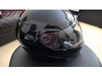 SHARK Openline Crash Helmet Size XL Gloss Black