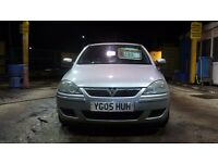 VAUXHALL CORSA 1.2 PETROL 05 PLATE FSH 12 MONTHS MOT LOW MILES RUNS REALLY WELL