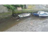 28ft fishing boat hull free to collector