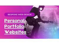 Bespoke Web design Services! Personal Portfolio Websites!