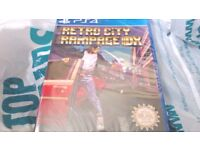 retro city rampage ps4 with psp case