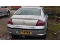 Peugeot 407 Spares or repairs
