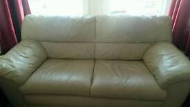 sofa leather excellent condition