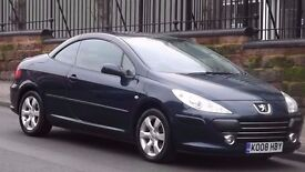 2008 Peugeot 307CC 2.0 S 2 Door Convertible, Full Service History, Low Miles, Long MOT!