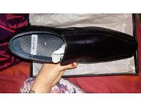 Mens smart black shoes size 10