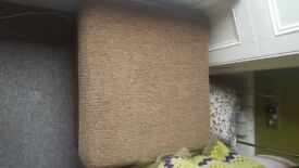 Foot stool pouffe brown large great condition £40 ono