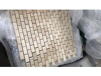 Marble Mosaic Tiles 3 sheets