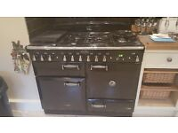 Rangemaster cooker..110 dual fuel..as new..move forces sale..over a years warranty still left on it