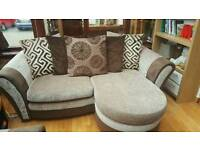 Dfs 3/4 seater and 2/3 seater sofas
