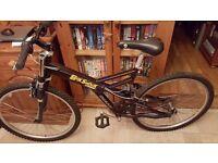 Giant box shock free ride mountain bike