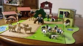 Lovely toy farm set great condition £30