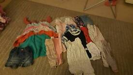 3-6 months girls clothes bundle