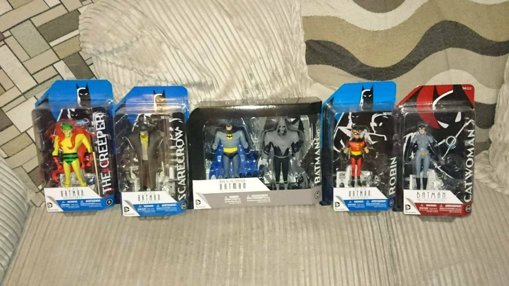 DC Collectables Batman the Animated Series action figure bundle, Sealed New