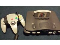 Nintendo 64 Console NTSC-J with Mario 64 (Japanese Version)