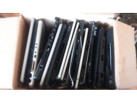 Lot of broken unwanted laptop plastics for free