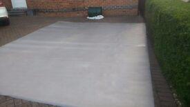 Gerflor flooring approx 4x3 m grey