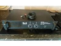 NJS NJA760 STEREO AMP 2 X 380 WATT GOOD CON!!!