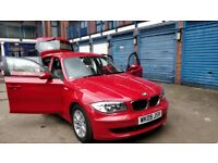 Red BMW 1 Series 2009 (Diesel) 118D SE, 5Dr. 2 Previous Owners. *New Tyres* *New Clutch at 90k*