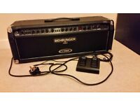 Behringer V-tone GMX1200H guitar head amp
