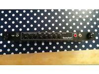 TECH21 SANSAMP RBI Bass Driver Rack mount preamp DI TECH 21