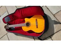 Hohner acoustic electric guitar. HEC280
